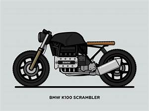 Bmw K100 Scrambler : bmw k100 scrambler on behance ~ Melissatoandfro.com Idées de Décoration
