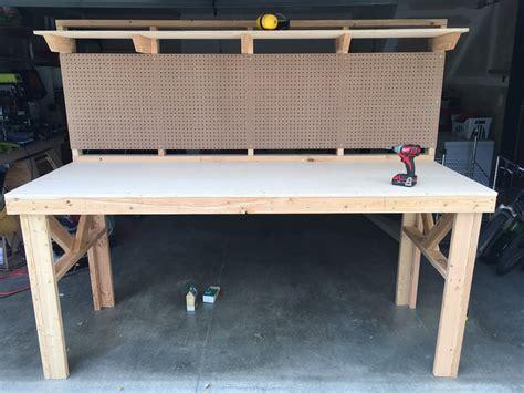 standing work bench allwine designs