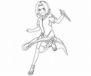 Sakura Haruno 15 Coloring Crafty Teenager
