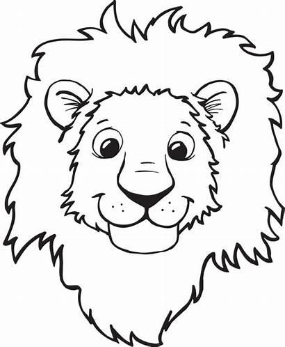 Lion Head Clipart Clipartpanda Face Clip Drawing