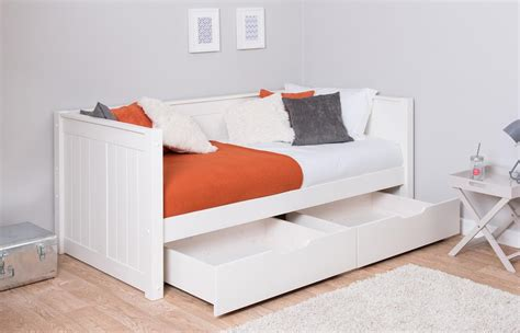 Day Beds With Drawers by Stompa Classic Day Bed And Underbed Drawers Rainbow Wood