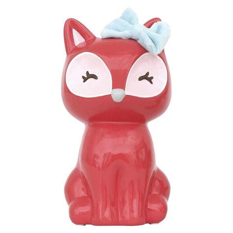 cute    circo fox bank fox decor fox