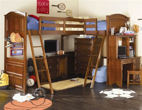 toddler boy bedroom sets boys loft bed desk ideas boys loft bed
