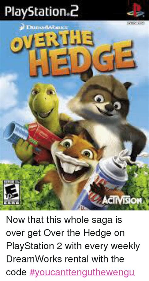 playstation 2 overth3 now that this whole saga is get the hedge on playstation 2 with