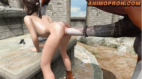 Lara Croft Recording Her Horse Gets #Rule34Hentai