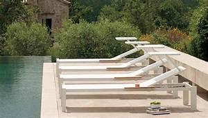 Bain De Soleil Avec Accoudoir : bain de soleil et transat design terrasse et demeureterrasse et demeure ~ Teatrodelosmanantiales.com Idées de Décoration
