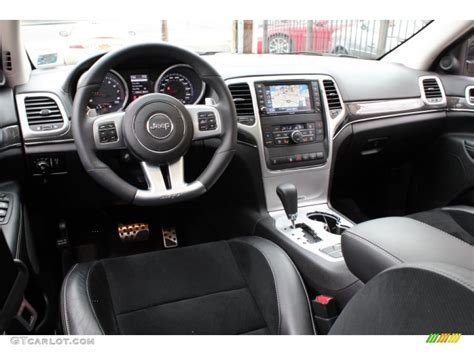 jeep grand cherokee custom interior srt black interior 2012 jeep grand cherokee srt8 4x4 photo