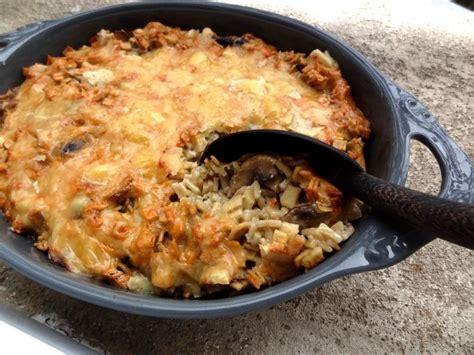 plats rapides à cuisiner recette du gratin de crozets aux chignons