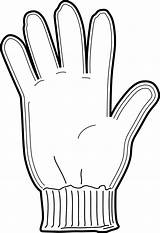 Glove Colouring Pages Gloves Winter Clipart Mittens Coloring Craft Clothing Hand Clothes Sheet Snow Intheplayroom Hat Template Svg Sheets Wool sketch template