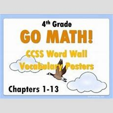 Go Math Grade 3 Chapter 9 (lessons 9197 With Journal