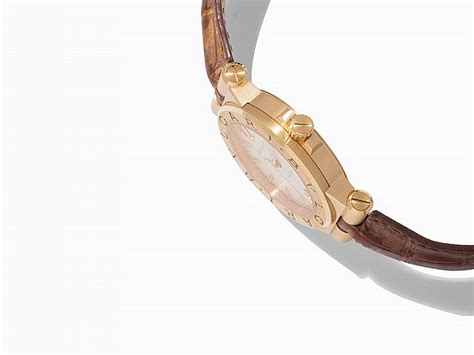 details bulgari bvlgari ring in 18kt yellow gold with pave bvlgari diagono ref dg 35 c6gld switzerland c 2010