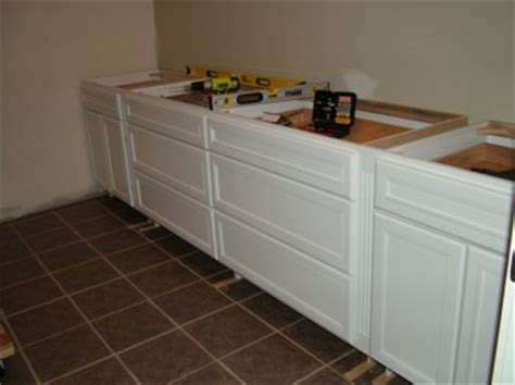 how to install a cabinet filler cabinet installation ask the builder