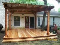 great patio wood design ideas Atx Fence & Deck | Georgetown, TX 78628 | Angies List ...