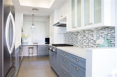 modern painted kitchen cabinets colorful painted kitchen cabinet ideas hgtv s decorating 7764