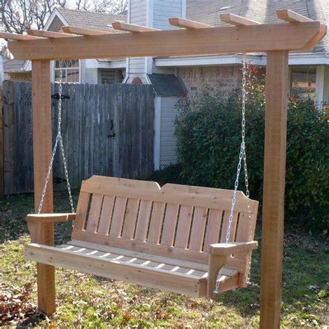 great garden swing ideas  ensure  gregarious time