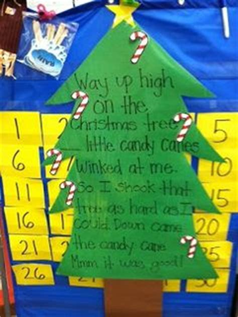 christmas tree songs for preschoolers 1000 images about kindergarten pocket chart poems on 8795