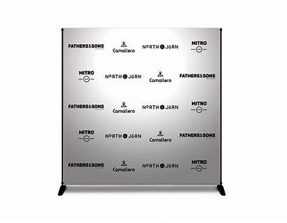 Banner Backdrop Stand Format