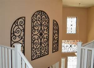 The best material wrought iron wall decor joanne russo for Best brand of paint for kitchen cabinets with where to buy metal wall art