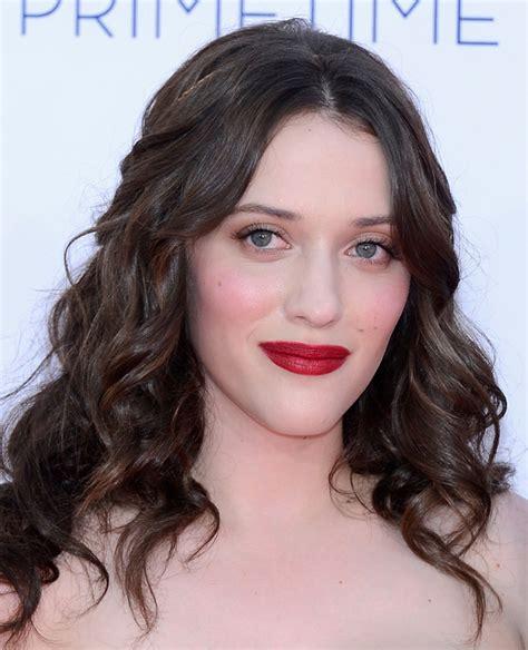 Kat Dennings Makeup Looks Not Always Red Lipstick