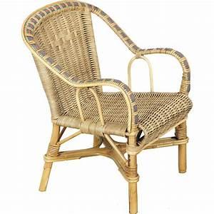 Fauteuil En Rotin : fauteuil enfant en rotin crapaud ~ Teatrodelosmanantiales.com Idées de Décoration