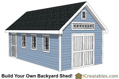 12x24 Portable Shed Plans by 12x24 Shed Plans Easy To Build Shed Plans And Designs