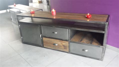 bureau industriel vintage mobilier industriel vintage pas cher meuble tv industriel