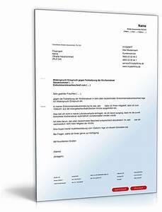 Widerspruch Gegen Baugenehmigung Muster : einspruch festsetzung kirchensteuer vorlage zum download ~ Lizthompson.info Haus und Dekorationen
