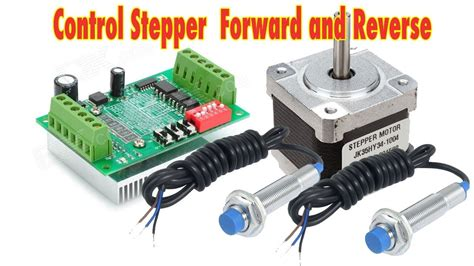 Control Stepper Forward Reverse With Proximity Limit