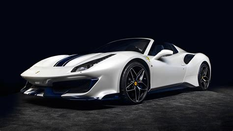 These three ferrari 488 supercars are all thrillingly speedy, blessed with incredible grip and deliver like all 488s, the 2019 pista's engine is turbocharged, which dulls some of the engine music ferraris are known for. 2019 Ferrari 488 Pista Spider First Look: 710-HP Prancing Horse Drops Its Top