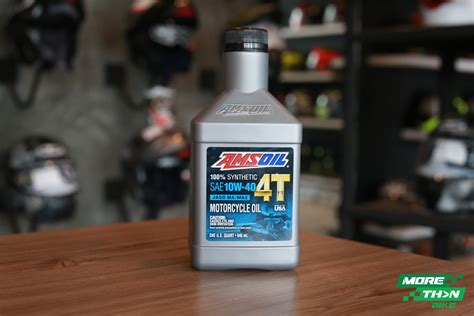 Amsoil 10w-40 4t Performance 100% Synthetic Motorcycle Oil