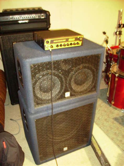 2x10 Guitar Speaker Cabinet Plans by Yorkville Bass Cabinet 2x10 Image 435068 Audiofanzine