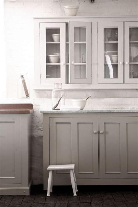 white cabinets gray walls the classic english kitchen by devol gray bottom