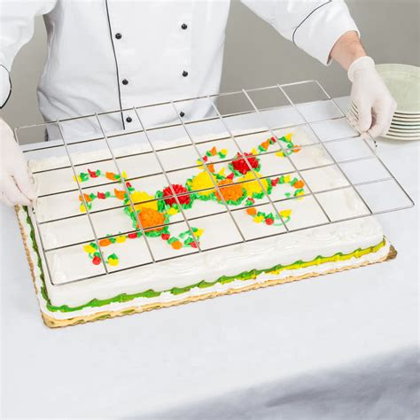 sheet cake size 48 stainless steel size sheet cake marker