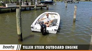 How To Drive A Boat With An Outboard Motor