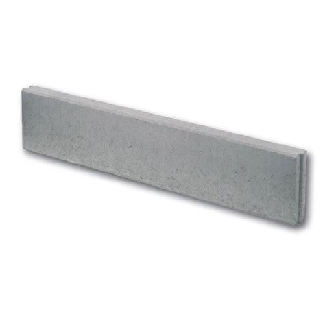 bordure jardin beton bordure droite b 233 ton gris h 20 x l 100 cm leroy merlin