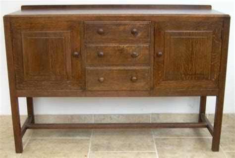 Antique Heals Cotswold Style Sideboard