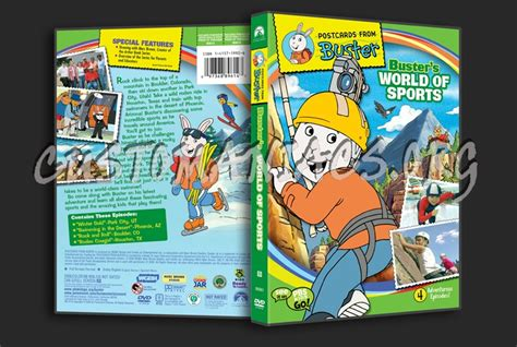 Buster's World Of Sports Dvd Cover