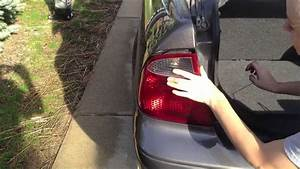 Replace Turn Signal  Reverse Light-2007 Ford Focus
