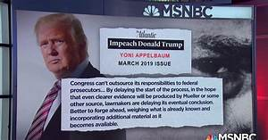 Will President Donald Trump be impeached?