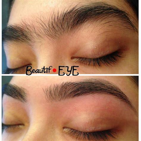 beautif eye eyebrow threading