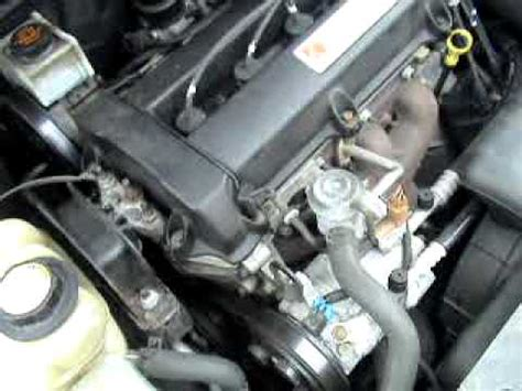 saturn sc crappy idle noise drive belt  timing