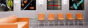 Idée Décoration Bureau Professionnel : d coration de bureau entreprise tableau d coratif mural edc ~ Preciouscoupons.com Idées de Décoration