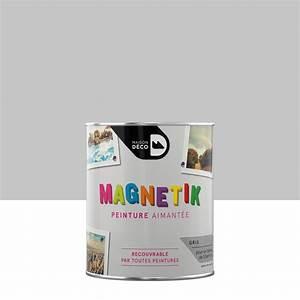 Leroy Merlin Peinture Blanche : peinture magn tique gris maison deco magn tik c 39 est g nial ~ Dailycaller-alerts.com Idées de Décoration