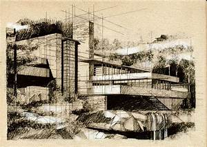 Frank Lloyd Wright – architecture,sketch,drawing,alina ...