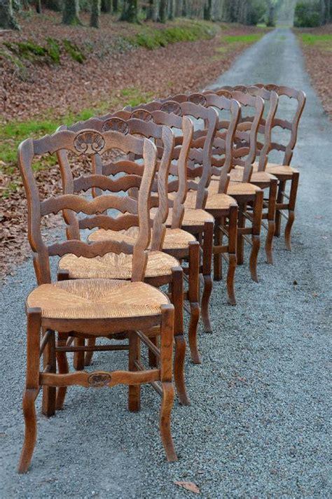 chaises paillées antique exports boutique chaises