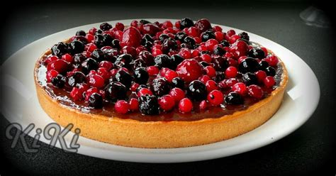 tarte chocolat fruits rouges