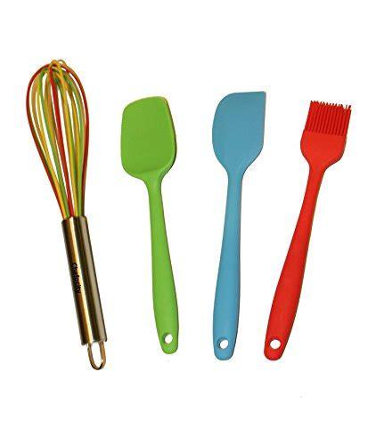 multi colored kitchen utensils 4 kitchen utensil set multi color silicone whisk 3407