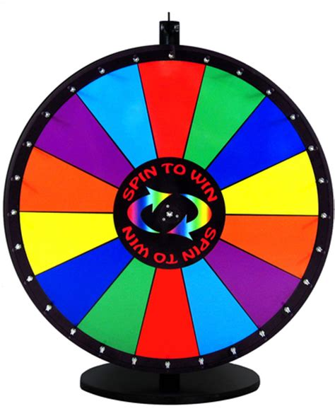 Spin And Win It Prize Wheels  Prize Wheel Depot