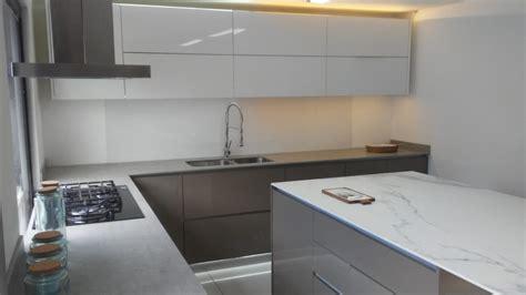 cocina moderna en alto brillo bm diseno