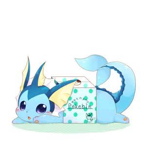Cute Pokemon Eevee Vaporeon